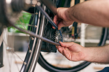 Ihr e-Bike ist bei unseren Experten in besten Händen