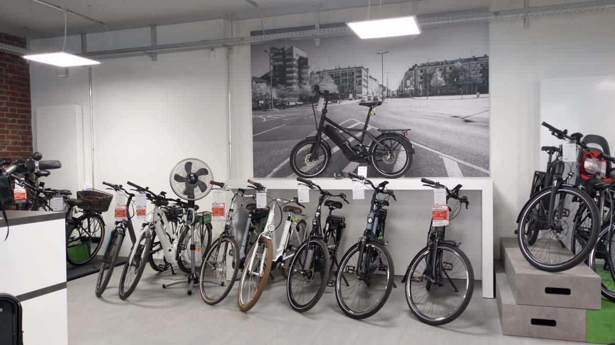 City Trekking e-Bike in der e-motion e-Bike Welt Bochum