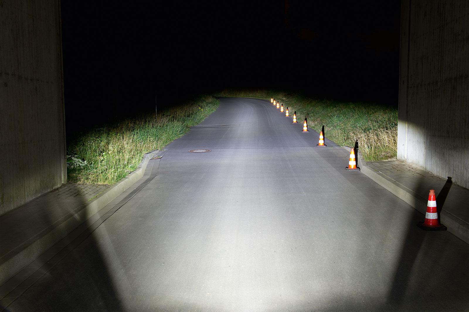 Busch und Müller e-Bike Beleuchtung mit einer Lichtmenge von 80 LUX