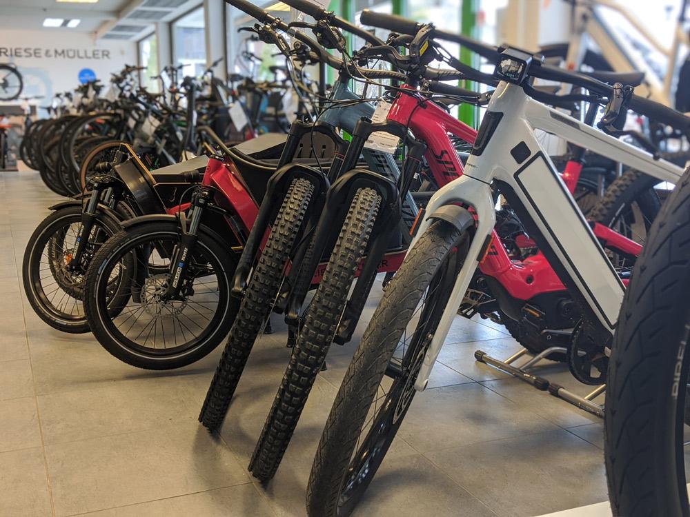 Die e-motion e-Bike Welt München Süd bietet e-Bike Service und Beratung