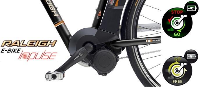 Raleigh Impulse e-Bike Antrieb