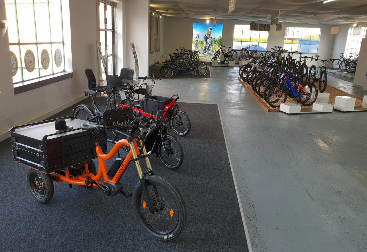Lasten e-Bikes in der e-motion e-Bike Welt Karlsruhe