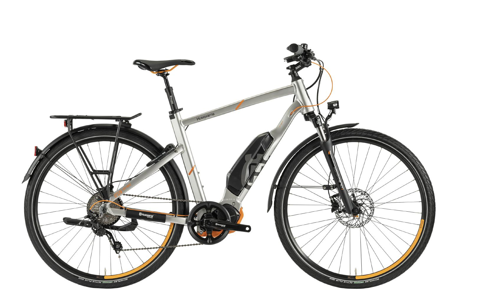 Husqvarna e-Bikes Light Tourer Anniversary Model LT LTD - silver