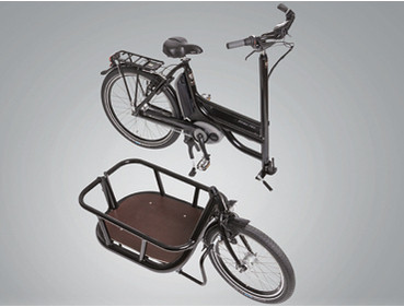Pfau Tec Carrier Lasten e-Bike
