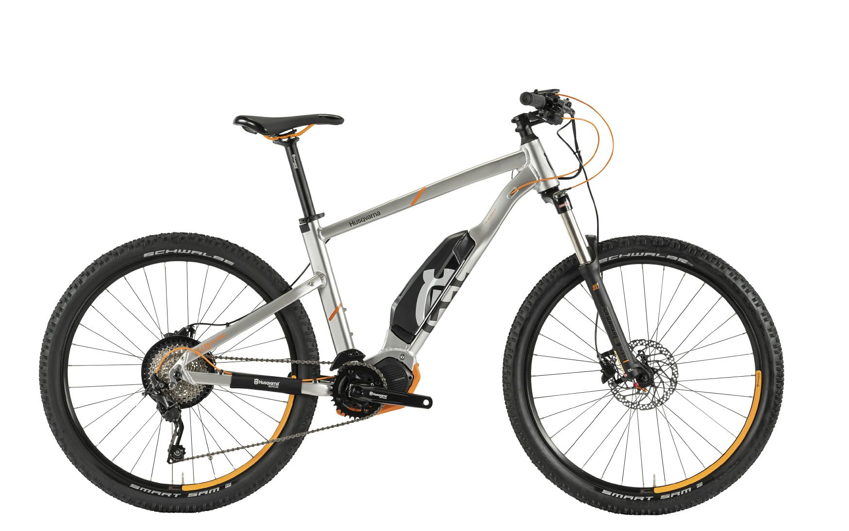 Husqvarna e-Bikes Light Cross Anniversary Model LC LTD - silver, 27,5''