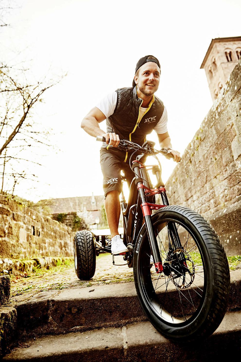 XCYC Lasten e-Bike Pick-Up Performance 2018
