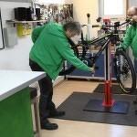 Beratung beim e-Bikes Spezialisten