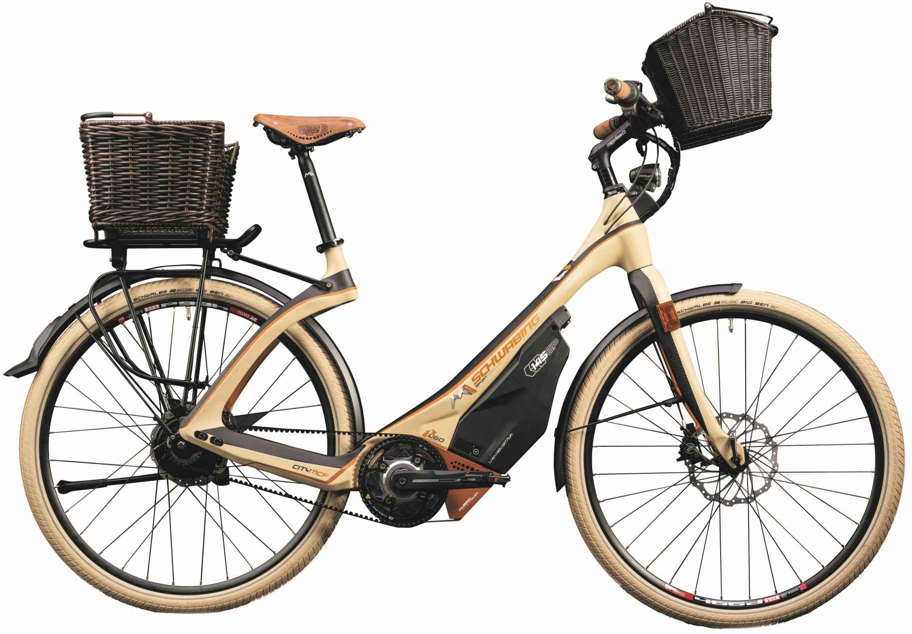 M1 Sporttechnik City und Touren e-Bike Schwabing 2018 - beige