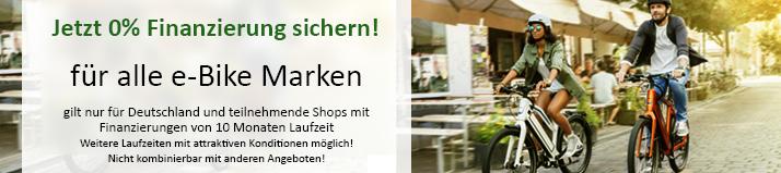e-Bike mit =% Finanzierung kaufen in Ulm