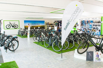 Die e-motion e-Bike Welt in Kleve