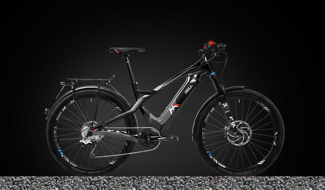 M1 Zell GT Pedelec 2020 - carbon/anthrazit