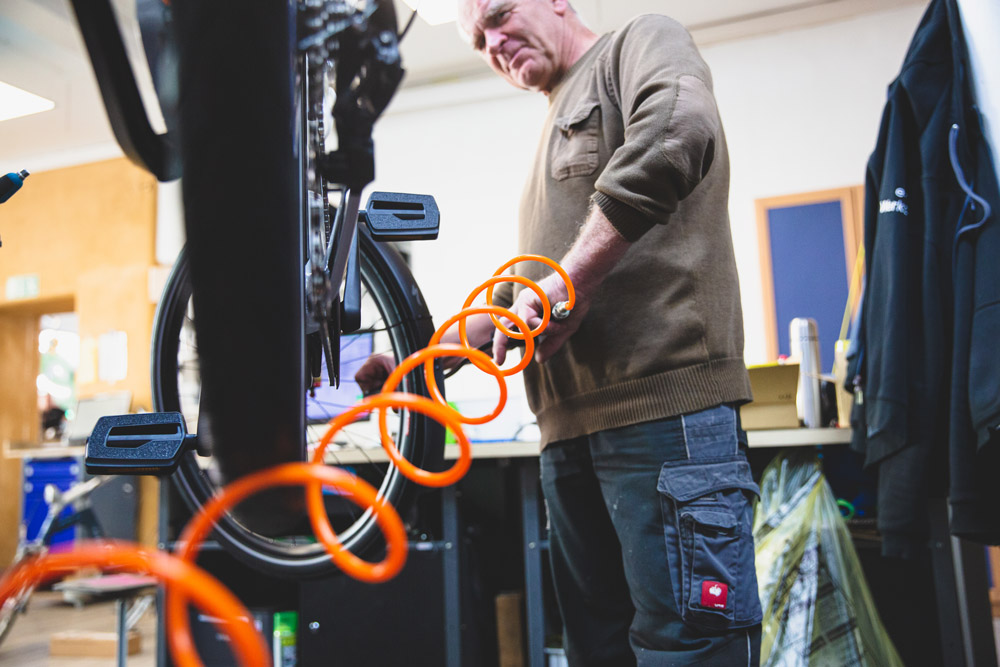 Serviceleistungen in der e-motion e-Bike Welt Worms
