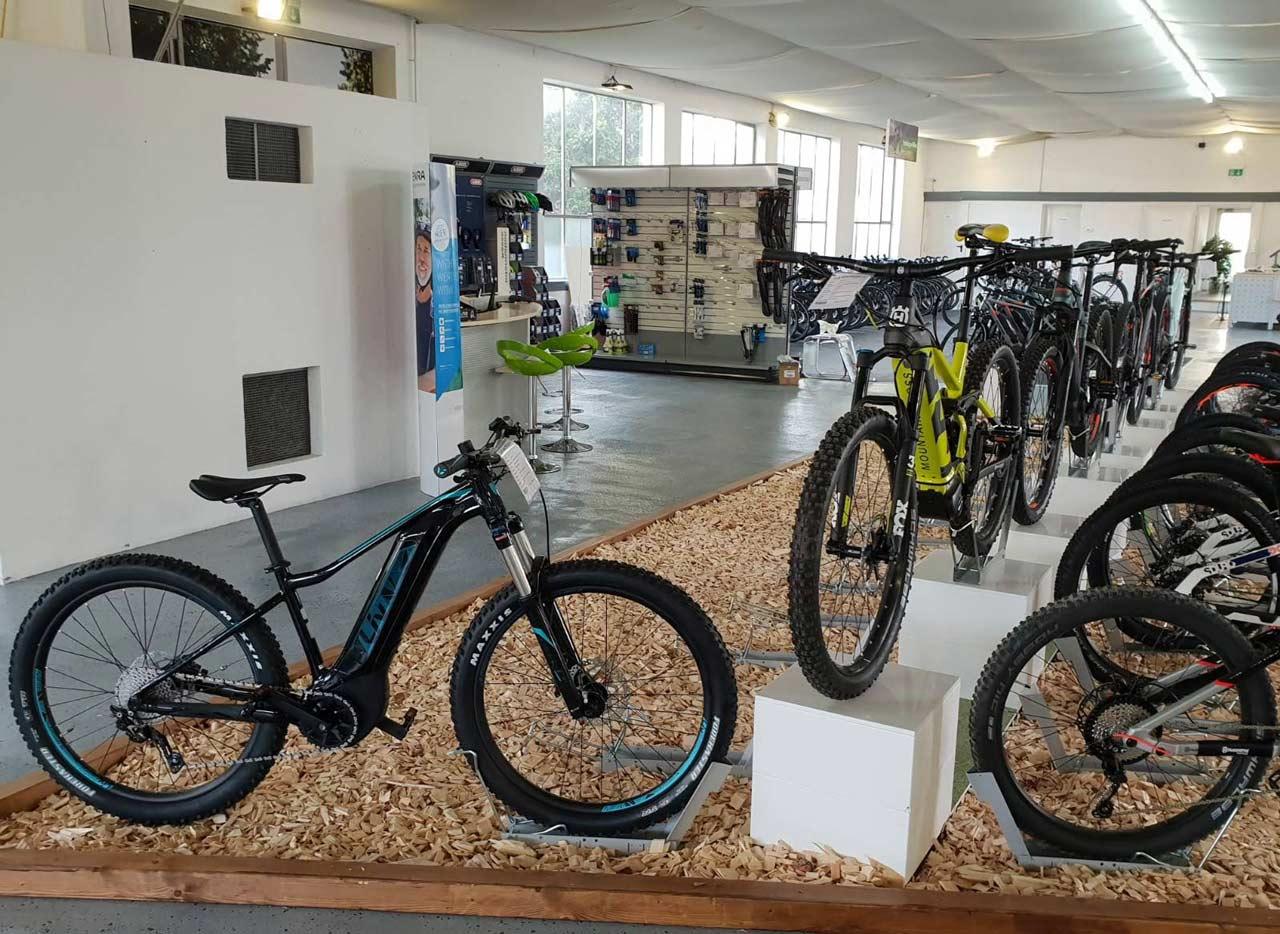 e-Mountainbikes kaufen in der e-motion e-Bike Welt Karlsruhe