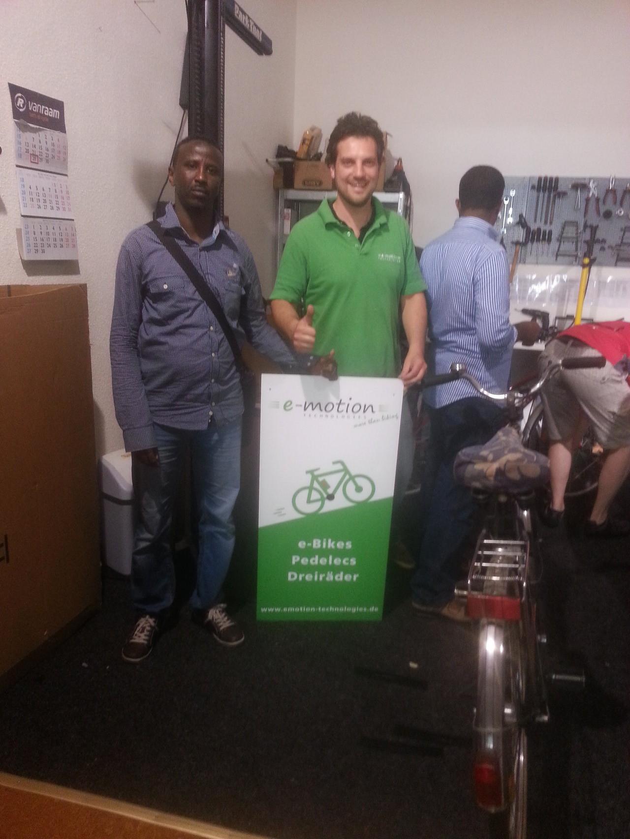 Fahrräder für Flüchtlinge – Eine Spendenaktion in Worms
