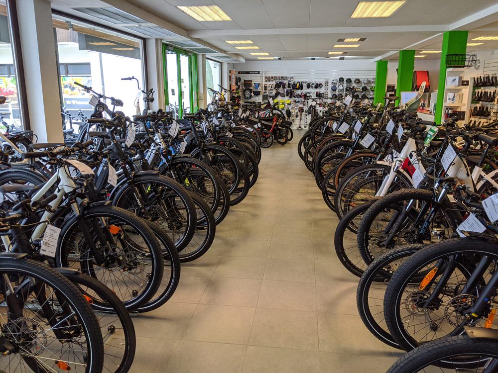 Große Auswahl an Premium e-Bikes in der e-motion e-Bike Welt in München Süd