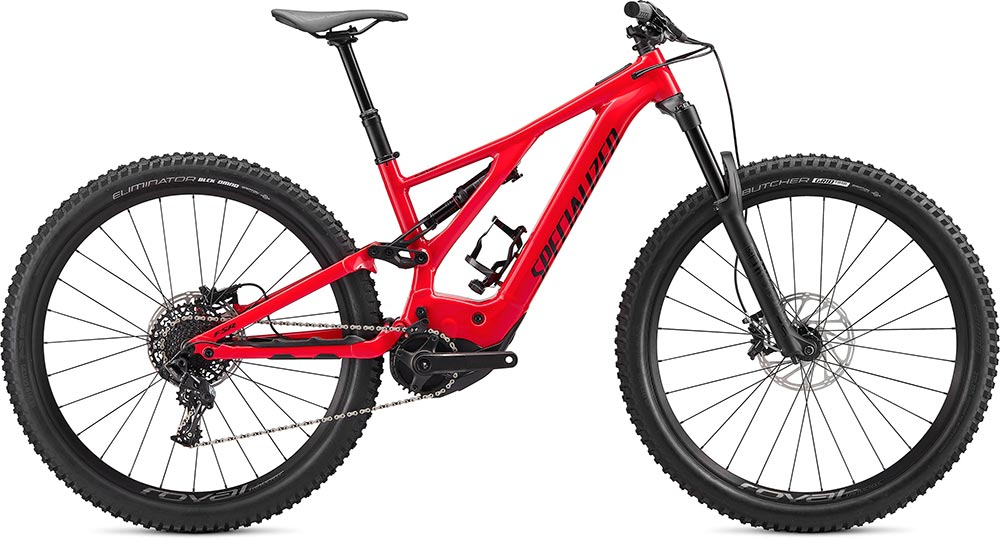 Turbo Levo 2020 - flo red,black