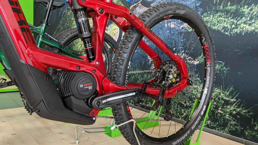 Der effiziente, leichte und leistungsstarke Motor für Ihr e-Bike: Bosch Performance Line CX