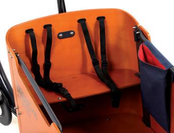 Babboe Go-E Lastenfahrrad 2021 mit eleganter großer Transportbox