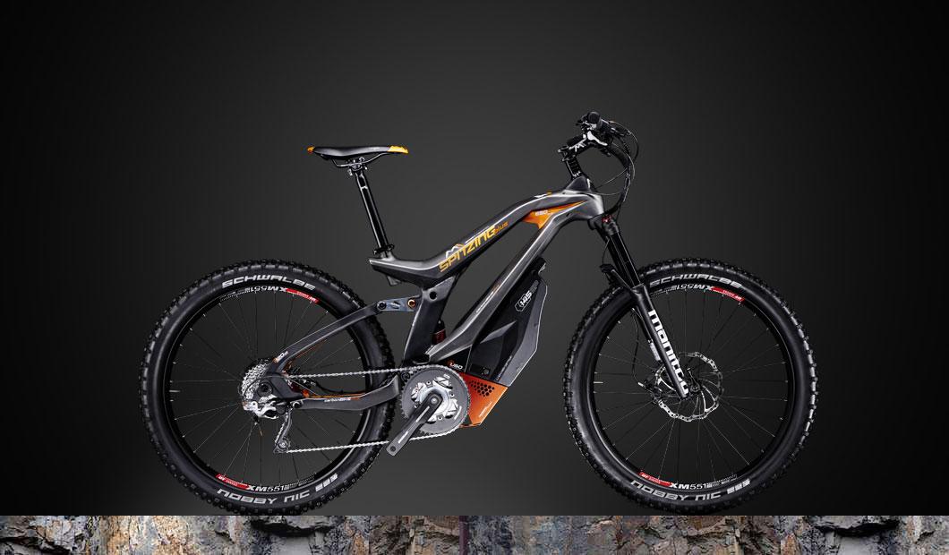 M1 Spitzing Plus Pedelec 2020 - orange