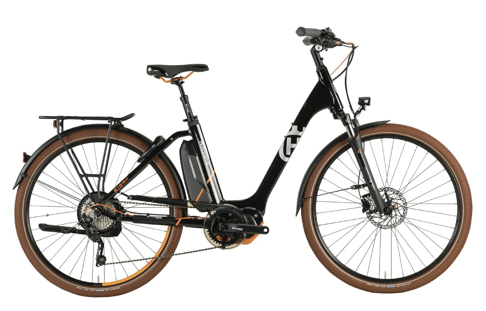 Husqvarna Gran City Anniversary Model GC LTD - black