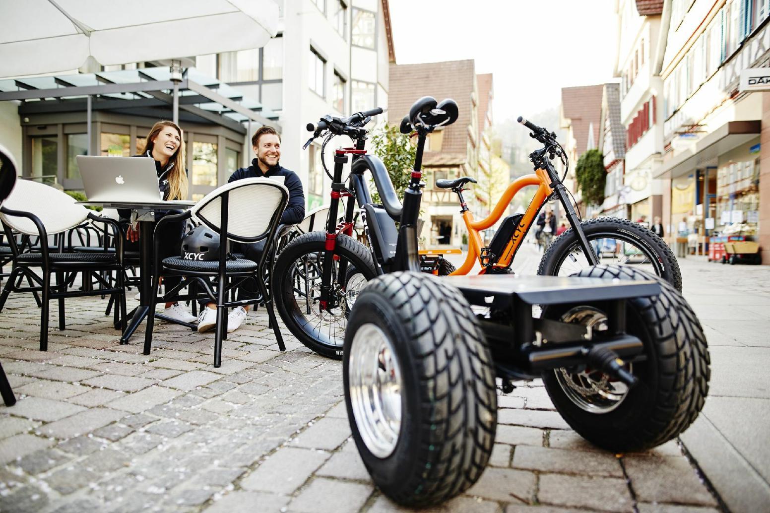 XCYC Lasten e-Bike Pick-Up Performance 2019