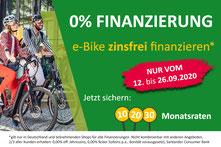 0% Finanzierungsaktion