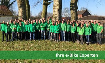 Ihre e-Bike Experten in der e-motion e-Bike Welt in Bremen stehen Ihnen mit Rat und Tat zur Seite.