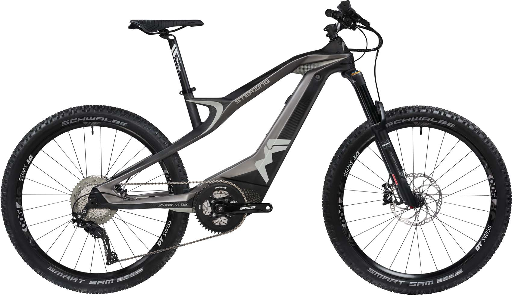 M1 Sterzing Evolution R-Pedelec 2020 - cliff gray/carbon