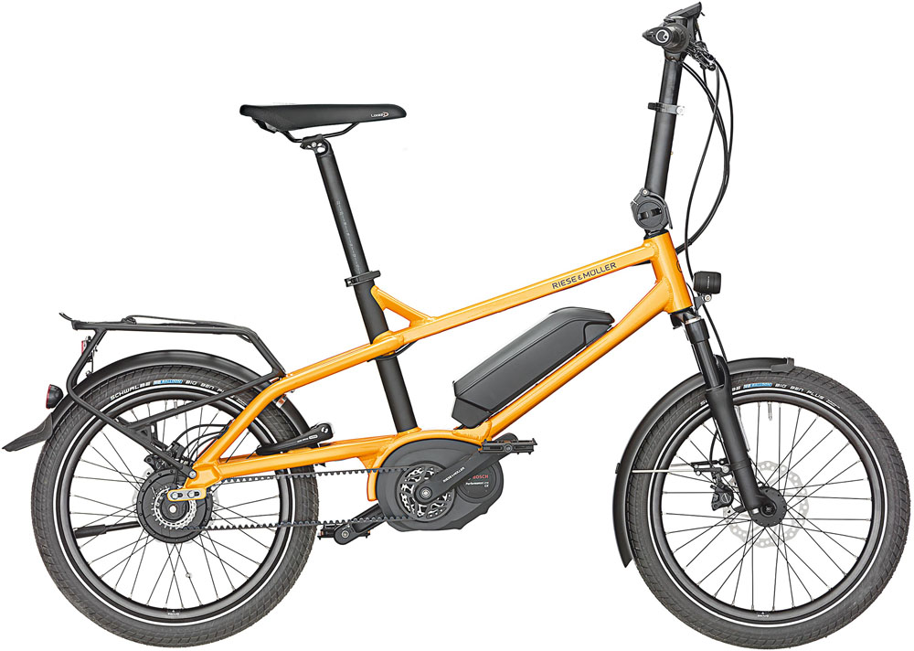 Riese & Müller Tinker Vario 2020 - orange metallic
