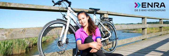 Enra e-Bike Versicherung