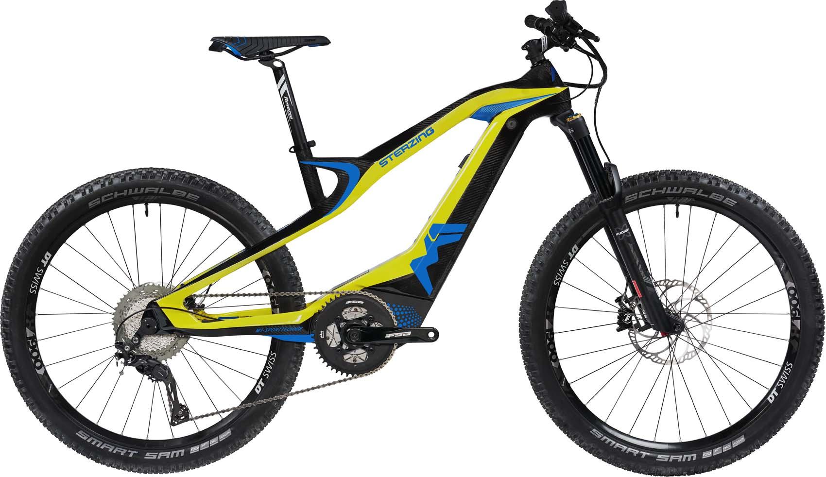 M1 Sterzing Evolution R-Pedelec 2020 - limoncello yellow/carbon
