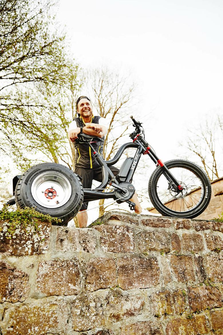 XCYC Lasten e-Bike Pick-Up Performance 2020