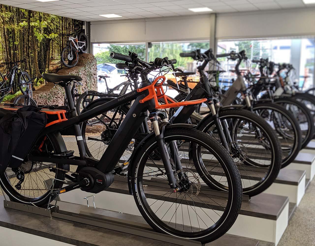 Wir führen nur ausgewählte Premium e-Bike Modelle und Marken, von denen wir selbst überzeugt sind!
