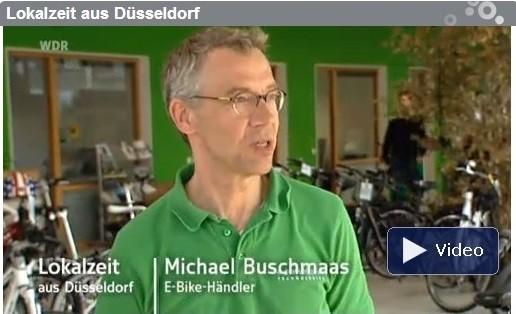 e-motion e-Bike Welt Düsseldorf Fernsehen WDR