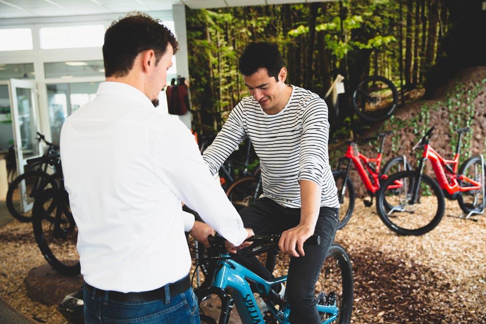 Unsere e-Bike Experten helfen Ihnen bei der Suche nach dem perfekten e-Bike und finden wir für Jeden das optimale e-Bike!