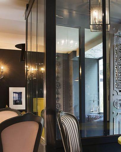 HÔTEL LES PLUMES  75009 PARIS > Projet réalisé en collaboration avec Mme Pascale de la Cochetière, Décoratrice et Vincent Bastie, Architecte.