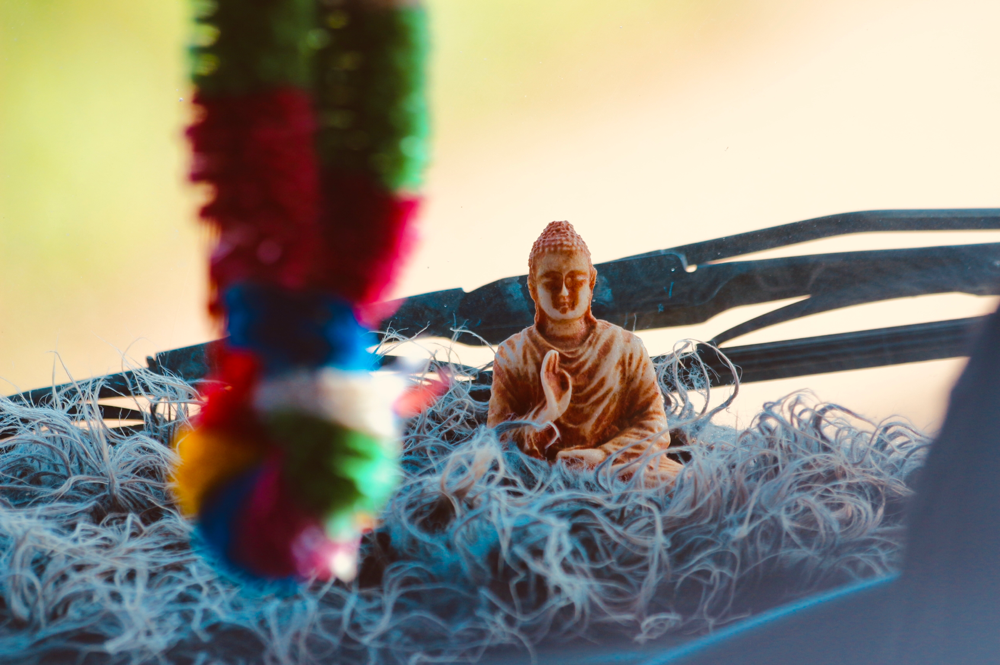 Driving Buddha