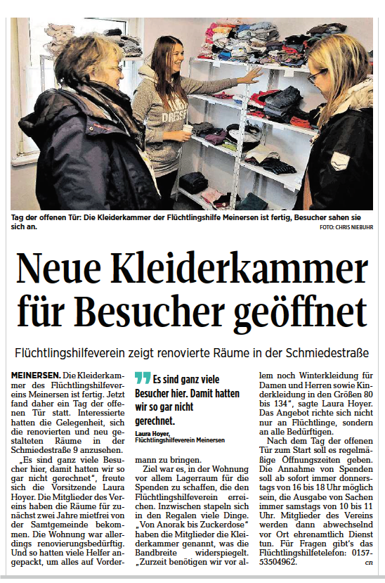 Aller-Zeitung vom 23.11.2016