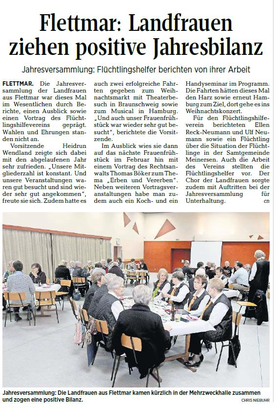 Aller-Zeitung vom 1.2.2018