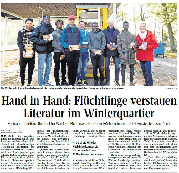 Aller-Zeitung vom 3.11.2017
