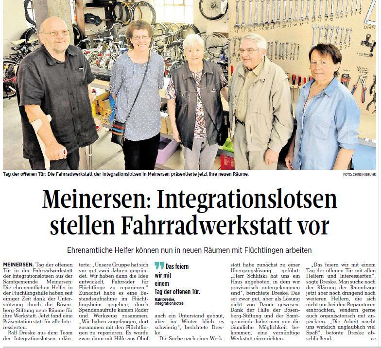 Aller-Zeitung vom 3.6.2017
