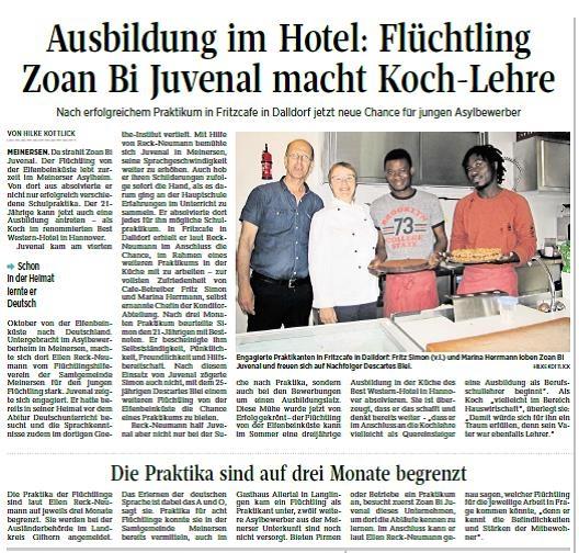 Aller-Zeitung vom 24.6.2017