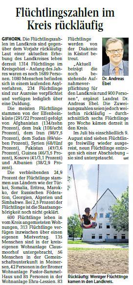 Aller-Zeitung vom 15.8.2017