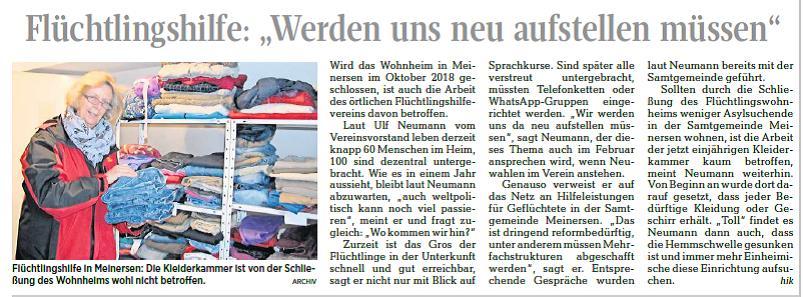 Aller-Zeitung vom 4.11.2017