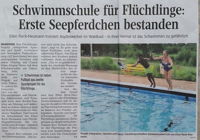 Aller-Zeitung vom 10.7.2017