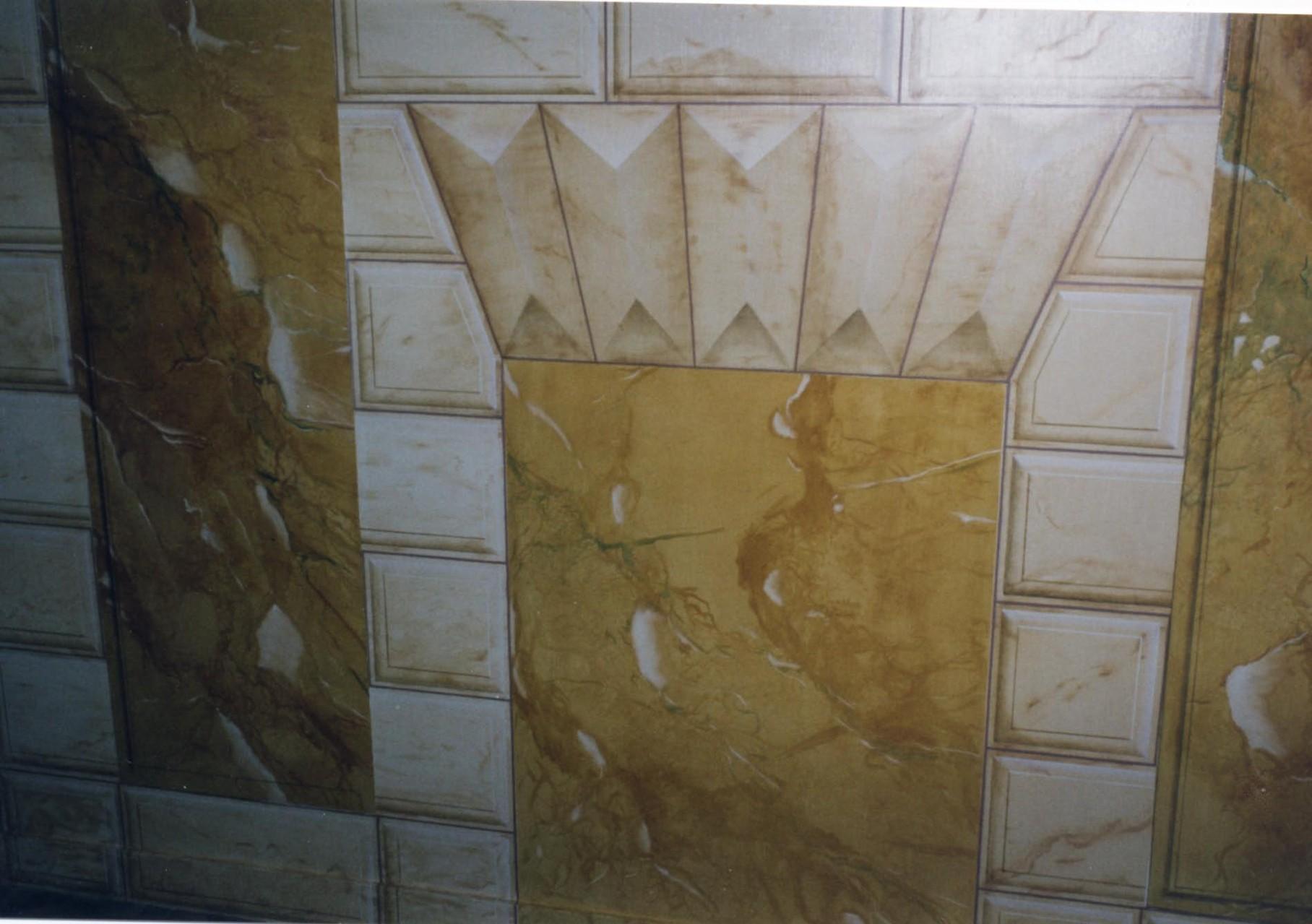Panneautages de marbre et pierres