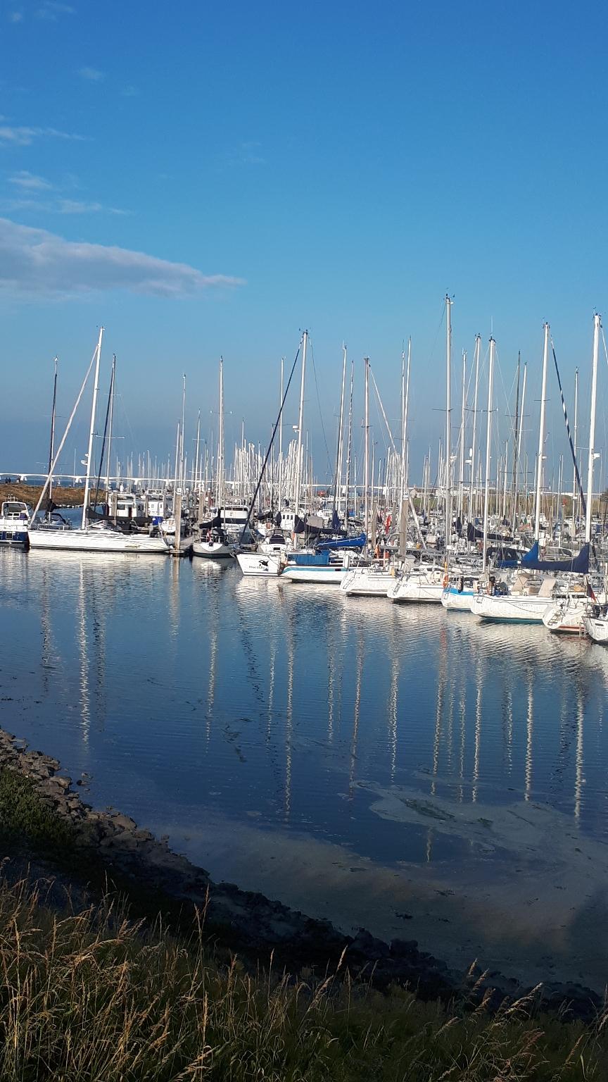 Colijnsplaat, der Starthafen