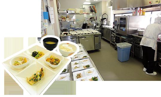 ピュアフードプランニングのセントラルキッチン「キッチンぴゅあ」