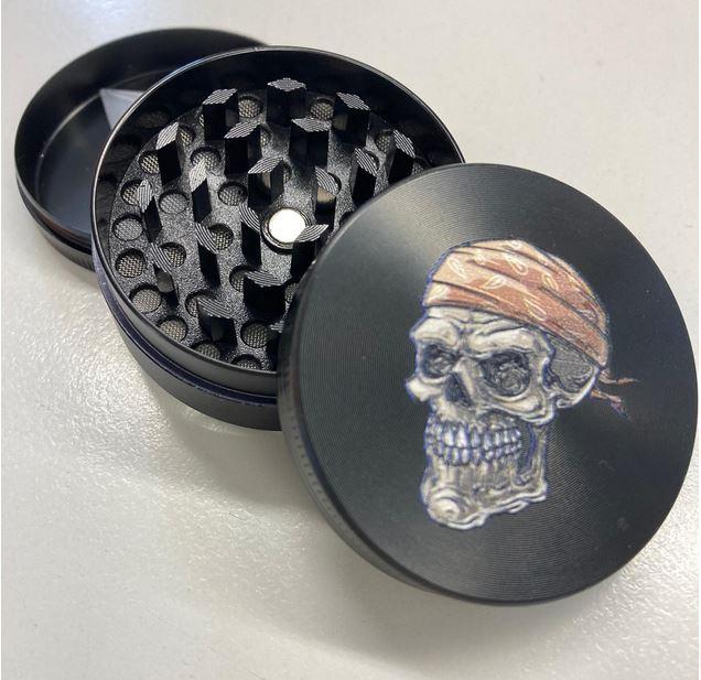 Grinder Atomic 3D Totenkopf