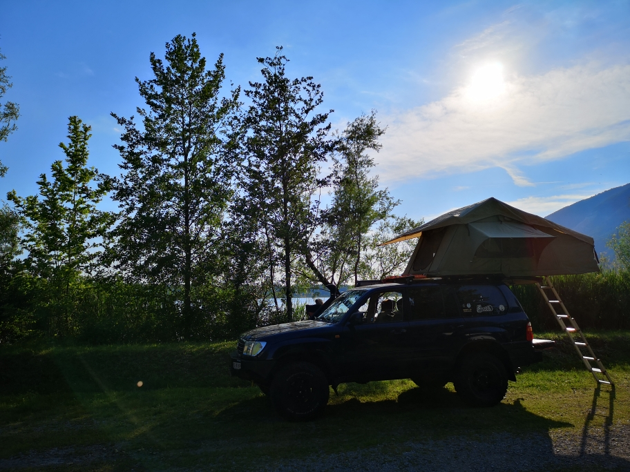 Lago di como campstop